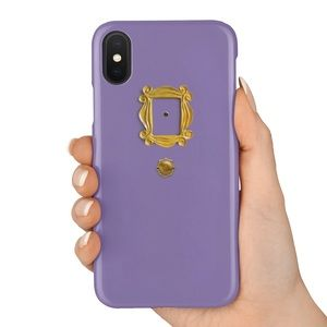 Accessories - Friends TV Show Purple Door Peephole Phone Case